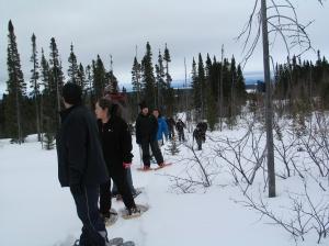 CNA students, Birch Brook, Labrador